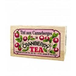 Thé à la canneberge boite...