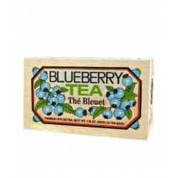 Thé au bleuets boite bois...