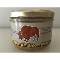 Terrine de bison nature 180g